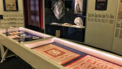 'Nieuw' oorlogskant dé blikvanger van nieuwe expo in Kantcentrum