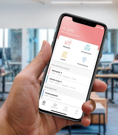 App-bouwers spelen in op 1,5 meter-samenleving: 'Reserveer werkplek vanuit huis'