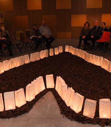 Ook Cuijk gedenkt overleden kinderen op Wereldlichtjesdag