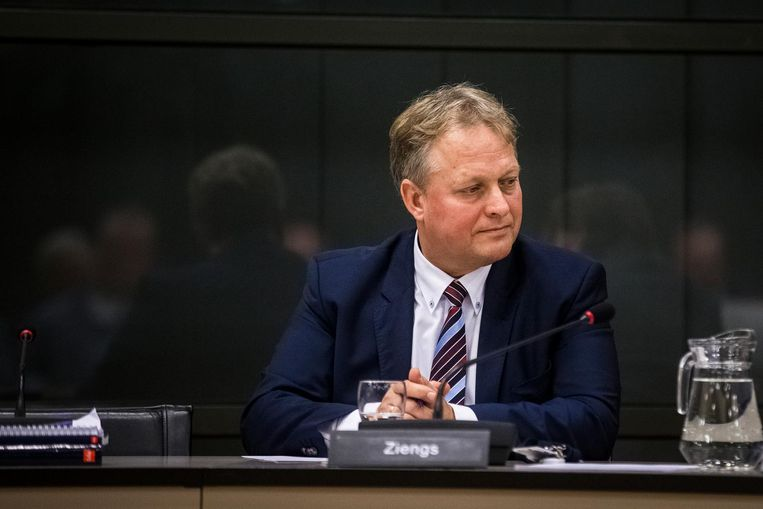 VVD-kamerlid Erik Ziengs. Beeld anp
