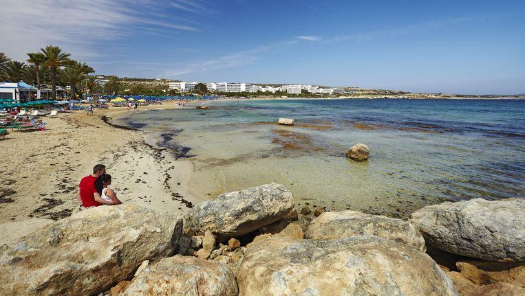 Een stelletje aan de kust van Famagusta. Beeld HH