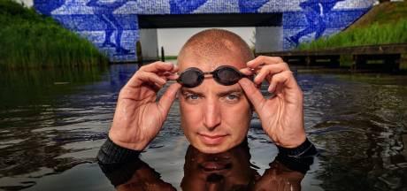 Geen meezwemmers bij 11Stedenzwemtocht Maarten van der Weijden