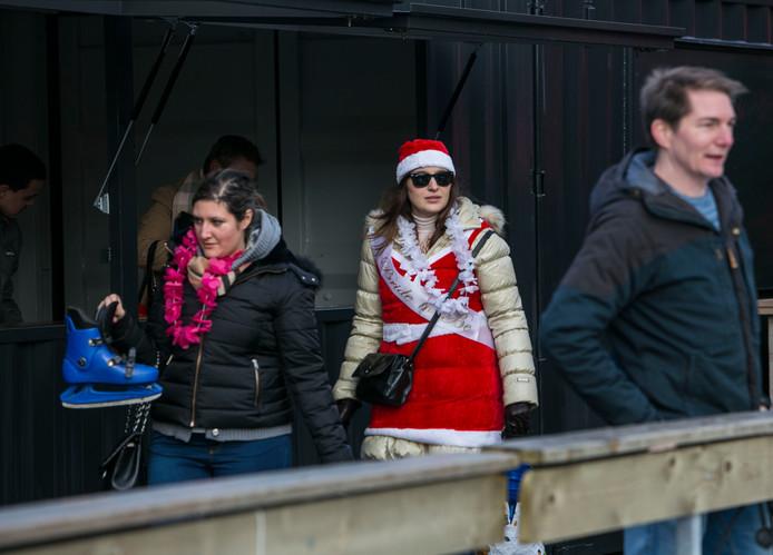 Kerstmarkt op de Westergas.
