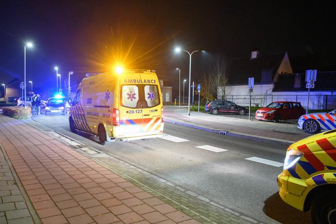 Ongeval op de Markt in Etten-Leur.