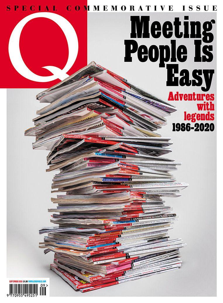 De laatste editie van het Britse muziekblad Q. Beeld
