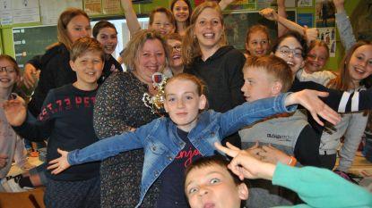 Vijfde leerjaar van De Sprankel is 'Sierlijkste Klas van Lochristi'