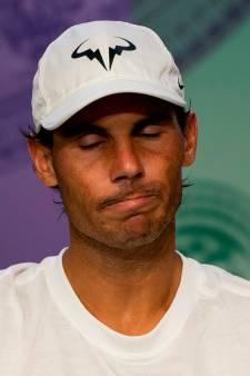 """Nadal """"triste"""" d'avoir gâché une opportunité: """"Il a joué un peu mieux que moi"""""""