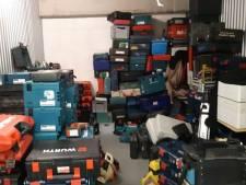 Grote partij vermoedelijk gestolen gereedschap gevonden in Capelle aan den IJssel