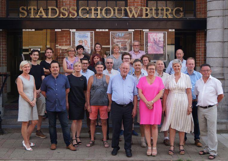 De medewerkers van het Gildhof en het stadsbestuur zijn klaar voor een nieuwe start