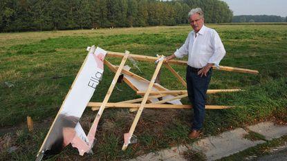 """Oud-burgemeester Meise dient klacht in tegen concurrent: """"Hij gaf nog gas bij toen hij mij zag staan"""""""