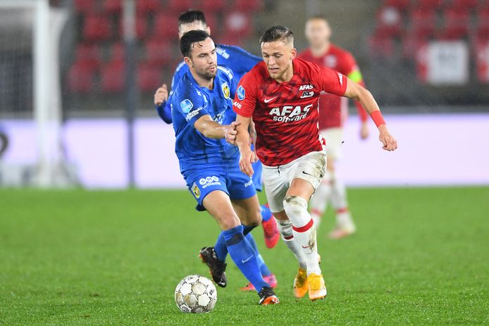 AZ - Vitesse eindigde eerder dit jaar in een 3-1 verlies voor de Arnhemse club.