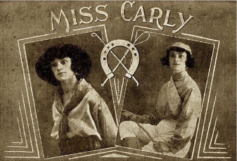 Caroline Kean, met de artiestennaam Miss Carly Miss, kleindochter van de stichter. Foto's van de stamvader en zijn vrouw bestaan er niet