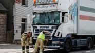 Vrachtwagen rijdt in op voorligger
