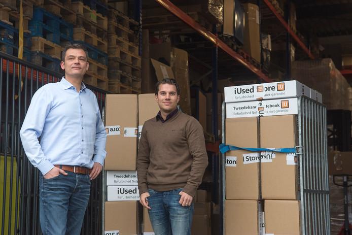 Remco van Rooijen en Jip van Asperen van IUsed Store.