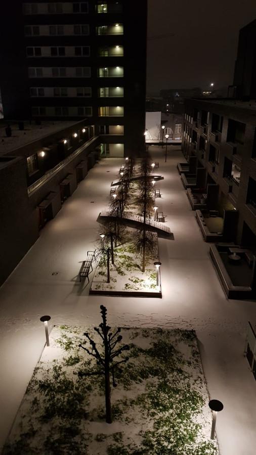 Mooie plaatjes van vannacht uit Tilburg.