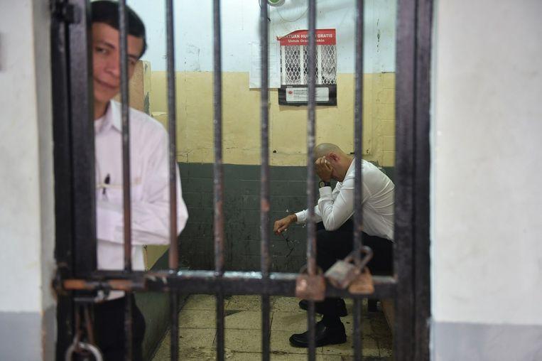 Neil Bantleman in cel. Beeld anp