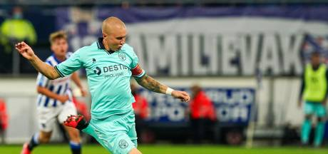 Willem II-aanvoerder Holmén baalt van nederlaag in Heerenveen: 'Even boos op onszelf zijn'
