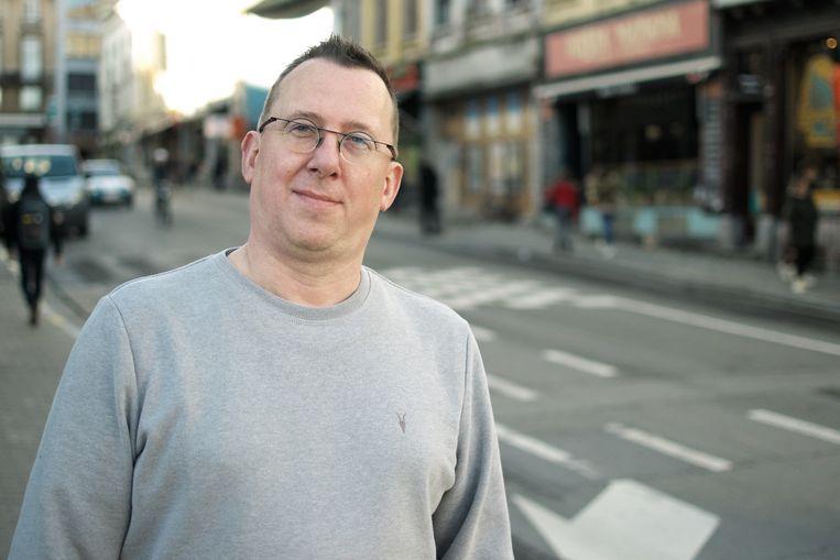 Didier Beydts 'Dj Psytox' (44) - vaste dj en fan van het eerste uur.