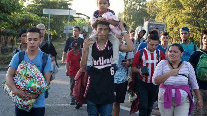 Nieuwe karavaan migranten bereikt Mexico, Trump herhaalt eis voor grensmuur
