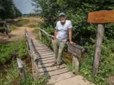 Wandelpad bij natuurcentrum op Specht-terrein in Handel deels verhard