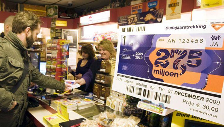 Een inwoner van Zeeland mag 27,5 miljoen euro op zijn of haar bankrekening bijschrijven. Foto ANP Beeld