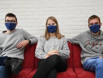 Leerlingen Sint-Vincentius ontwerpen mondmaskers voor volwassenen én kinderen