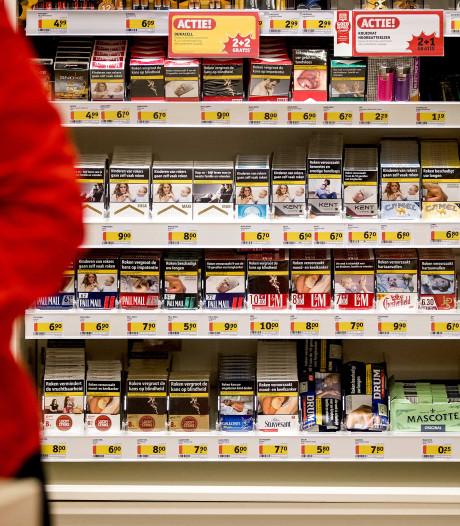 'Verkoop geen sigaretten meer bij supermarkt, tankstation en drogist'