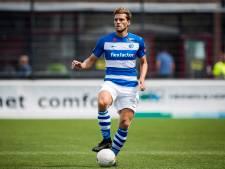Vet debuteert bij De Graafschap, Thomassen weer op de bank