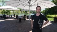 Jonathan Uyttendaele stelt het nieuwe terras van het Spaans Dak voor