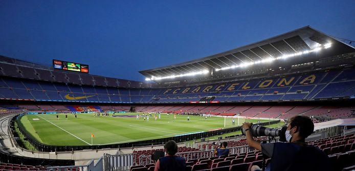 Camp Nou, het stadion van FC Barcelona.