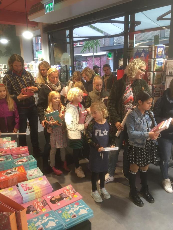 Jill Schirnhofer te gast bij Boekhandel Broekhuis