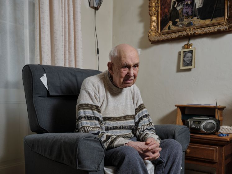 Ouder worden in de stad: en toen kon Piet (97) zijn trap niet meer af