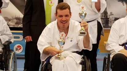 Goud voor karateka Filip