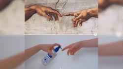 Quarantainekunst: maak parodieën van beroemde kunstwerken