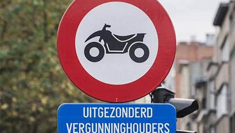 De stad Antwerpen voerde in 2009 al een quadverbod in.