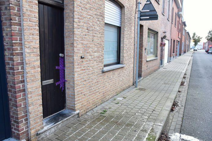 Le corps a été déposé chez le mère de la victime, rue du Rossignol à Wevelgem