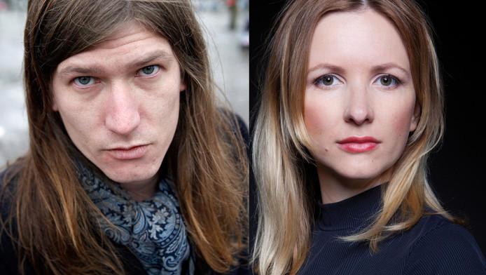 Jeroen Aalbers en Elfie Tromp.
