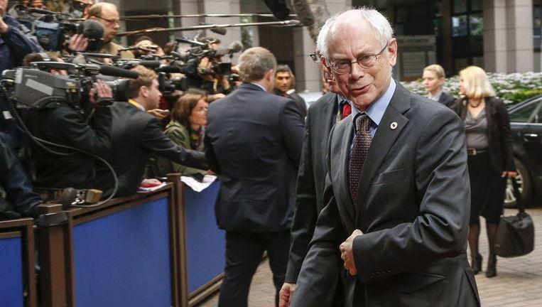 Europees president Herman Van Rompuy.