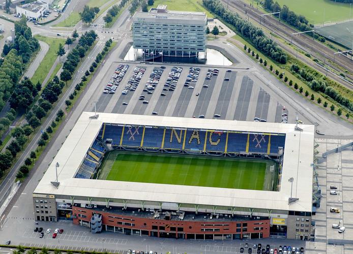 Voetbal stadion NAC Breda. FOTO ANP ROBIN VAN LONKHUIJSEN