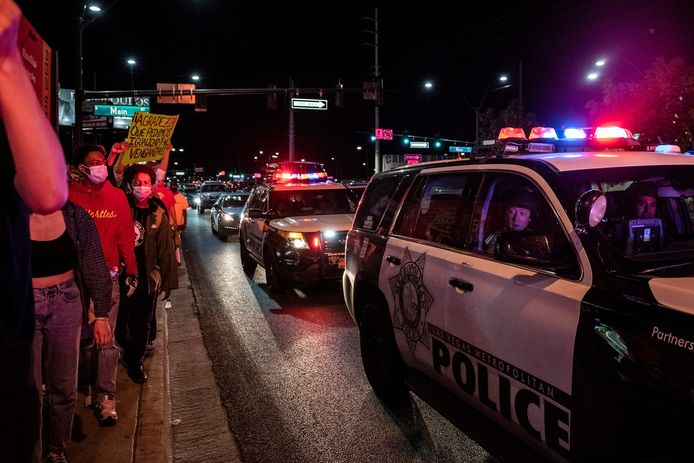 Protesten in Las Vegas.