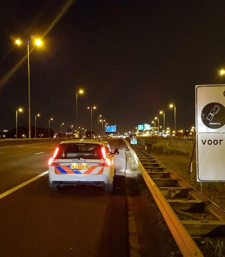 Extra controles op A15 tussen Vaanplein en Hoogvliet