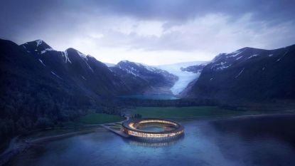 Hotel nabij poolcirkel is een droom midden in natuurparadijs