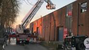Uitslaande brand in magazijn Ravelse Tegelwerken