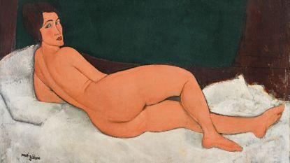 Schilderij van Modigliani geveild voor meer dan 131 miljoen euro