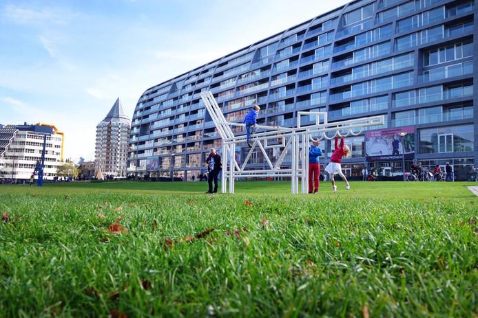 Appartementencomplex Rotta Nova moet verrijzen naast de Markthal.