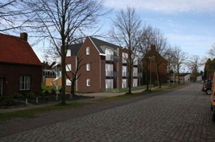 Impressie van appartementencomplex Rebus