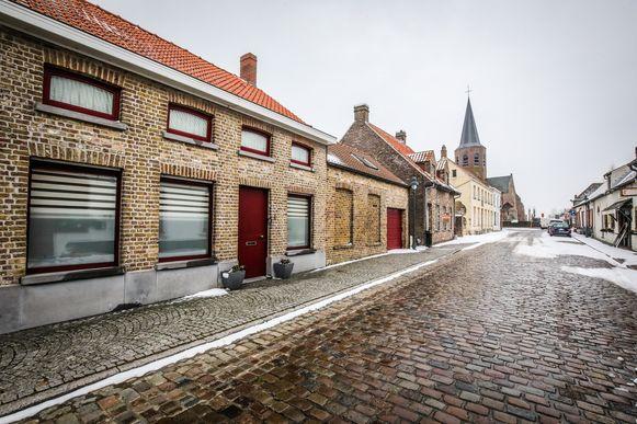 Houthave Kerkhofstraat wordt heraangelegd.