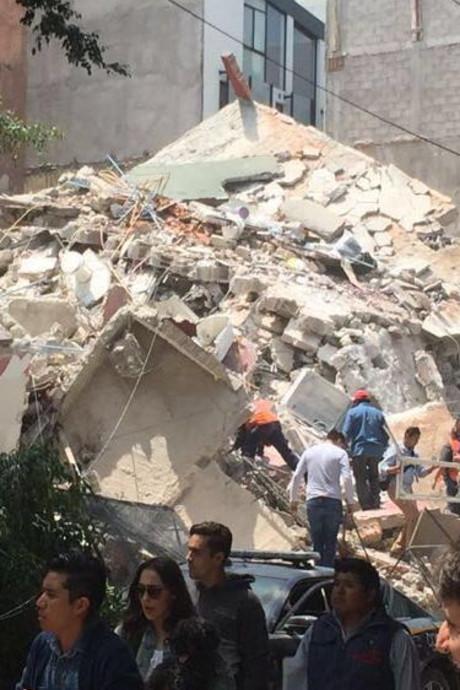 Weer aardbeving in Mexico