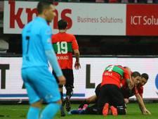 Heracles blijft in rechterrijtje na 3-1 nederlaag bij NEC