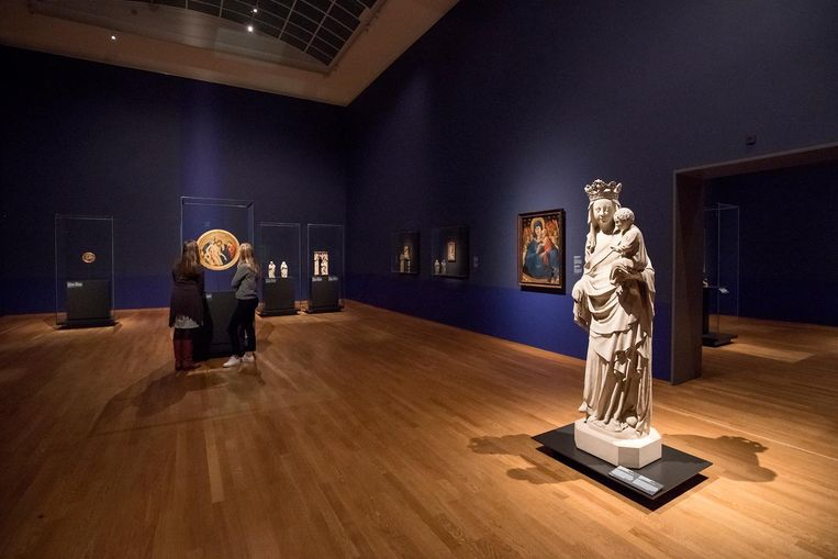 Tentoonstelling Maelwael in het Rijksmuseum Beeld Olivier Middendorp
